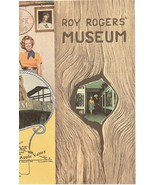 ROY ROGERS MUSEUM 1960s 1970s Brochure Dale Evans Apple Valley Californi... - $59.99