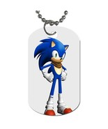 New Sonic Boom Dog Tag necklace Keychain - $10.00