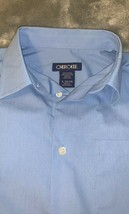 Boys Size Large 12-14 Cherokee Solid Blue Suiting Shirt Button Front L/S New - $15.00