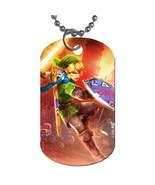 New Link The Legend of Zelda Hyrule Warriors Dog Tag necklace Keychain - $10.00