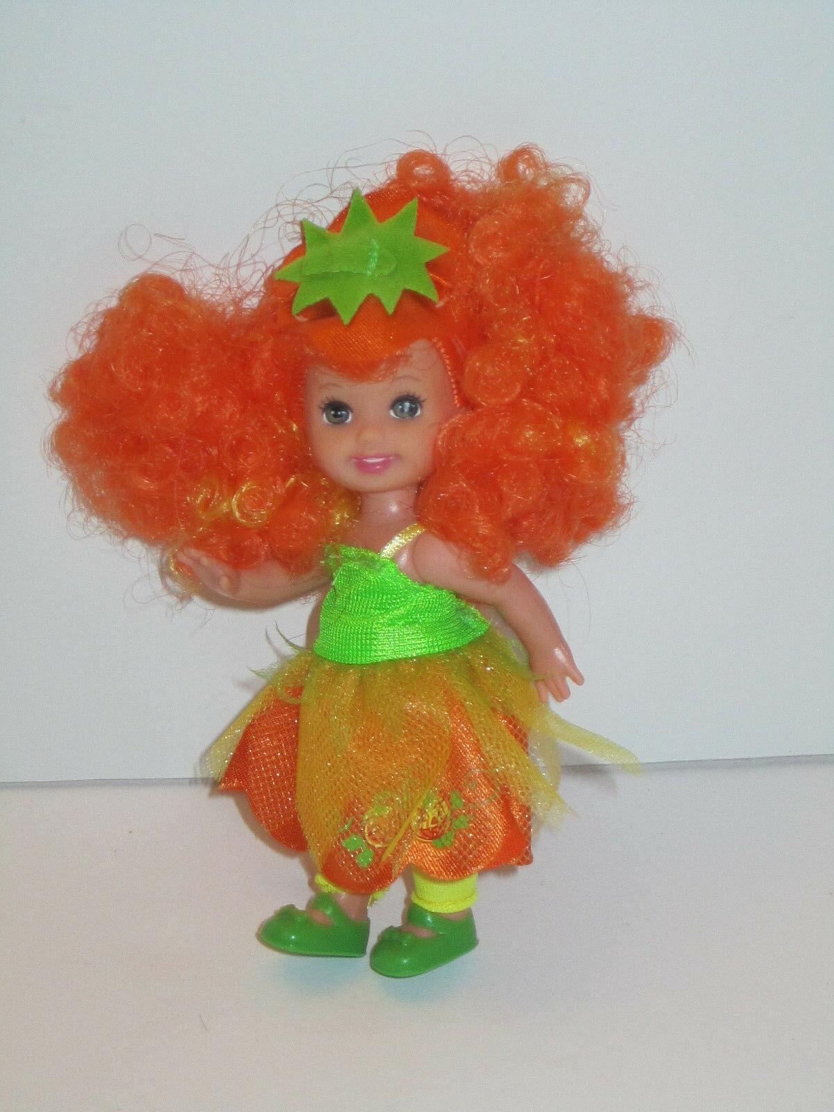 MINT Pumpkin Kelly 2006 Halloween Party Target Barbie Lil Sister Doll DEBOXED