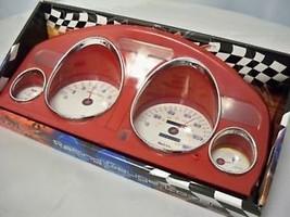 1994-1997 Honda Accord Manual Red Euro Dash Cluster Cover Trim Stick Shi... - $54.44