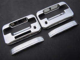 2005-2012 Ford F150 2dr Chrome Handle Covers W/ Key Pad W/ PS Key Hole - $29.69