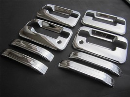 04-14 Ford F150 4 Door Chrome Handle Covers With Passenger Key Hole No Key Pad - $28.70