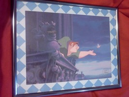 Disney Special  Limited Edition 1996 Hunchback Of Notre Dame Framed Picture - $9.90