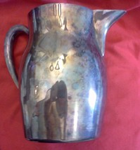 THE SHEFFIELD SILVER CO- 501 Water Pitcher Silverplate- needs cleaning - $13.86
