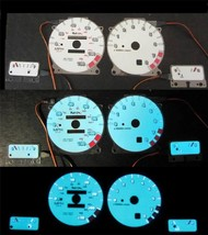 93 94 95 96 97 Nissan Altima w/rpm White Face Glow Gauges for Instrument... - $39.59