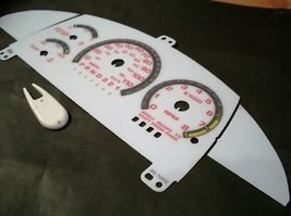 95-98 CHEVY CAVALIER Z24 RS AT WHITE FACE GAUGES KIT R - $18.80