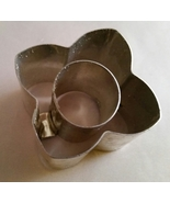 Ateco's Four Petal Flower Mini Vol Au Vent Cutter - $6.50