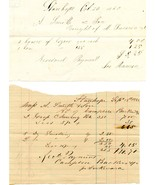 LOT (8) Civil War Era NEW JERSEY Receipts from ... - $17.50