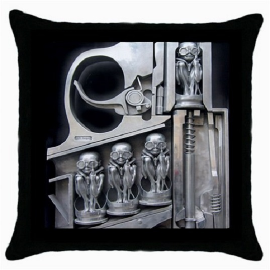 Throw Pillow Case Decorative Cushion Cover HR Giger Birth Machine Gift 38047113