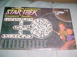 STAR TREK INCREDIBLE INTERGALACTIC CROSSWORD PUZZLE (1976) - $22.99