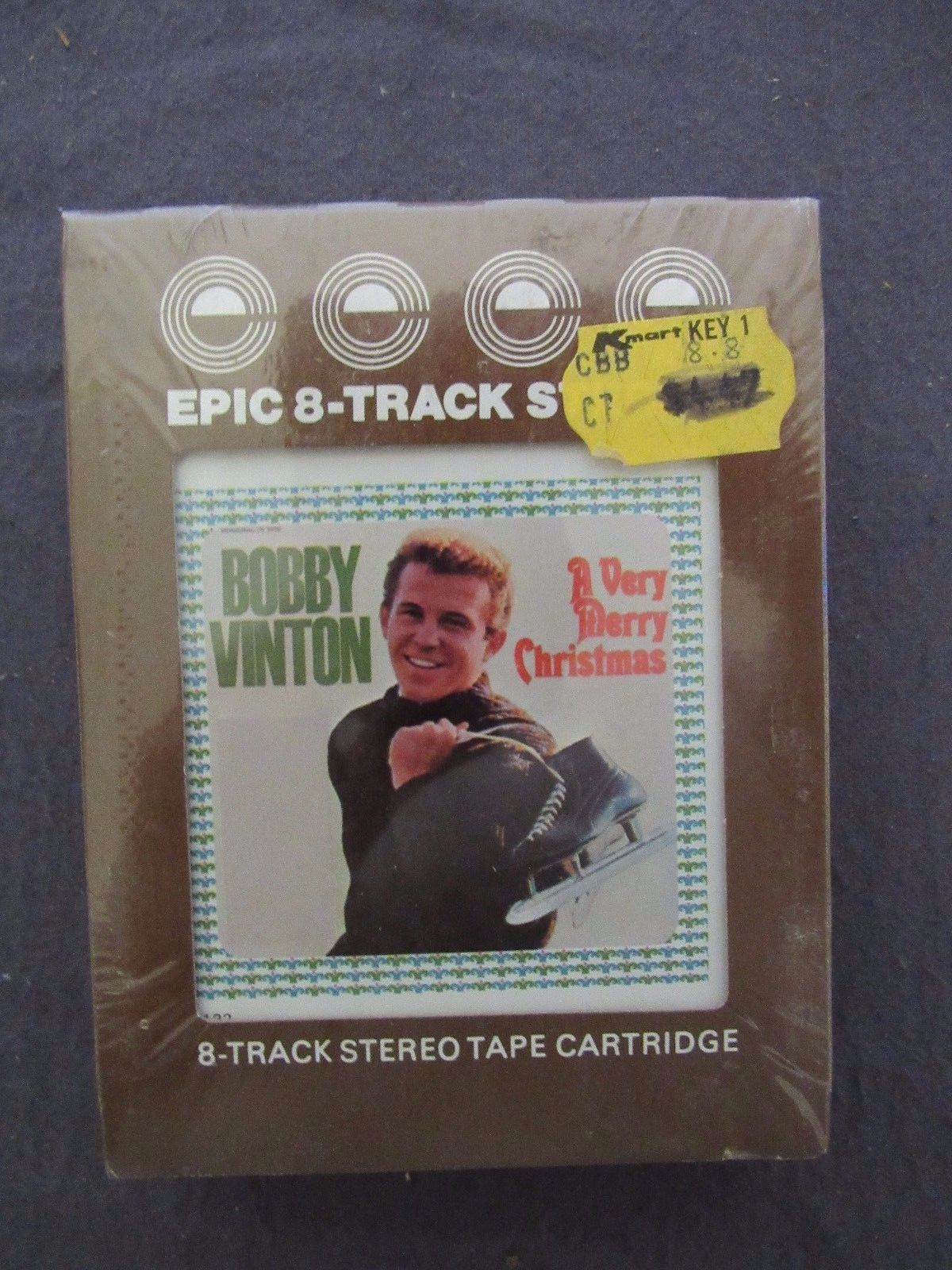 Vintage 8-Track Bobby Vinton A Very Merry Christmas New in Package