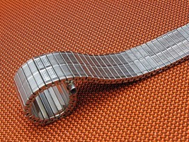 17mm - 22mm vintage expansion soft watch band in Stainless steel - $13.56