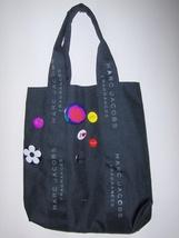 Marc Jacobs Tote Bag with Buttons Black Signature Shopper Shoulder Bag - ₨1,615.42 INR