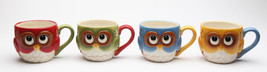 Cosmo Gifts -Set of 4 Cute Christmas Owl Design Holiday Mugs - €33,56 EUR