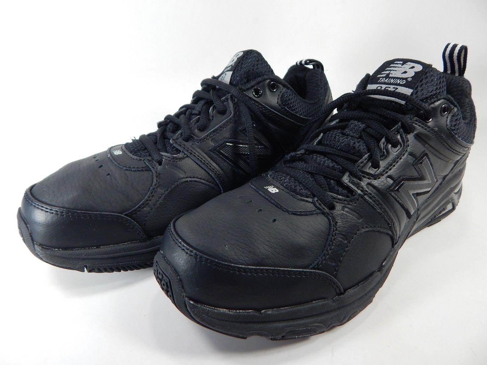 New Balance 857 Size US 8 M (D) EU 41.5 Men's Cross Training Shoes Black MX857BK