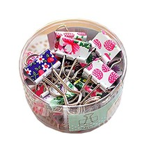 Lovely Cute Printing Style Metal Binder Clips/Paper Clips/ Clamps(1 Box ... - $10.00