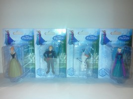New Disney Frozen Elsa, Anna, Olaf And Hans Figurines Collector Set Of 4... - $10.00