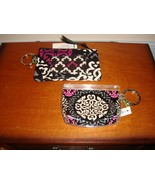 Vera Bradley Canterberry Magerta Zip ID Case & Zippidy Keychain - $19.99