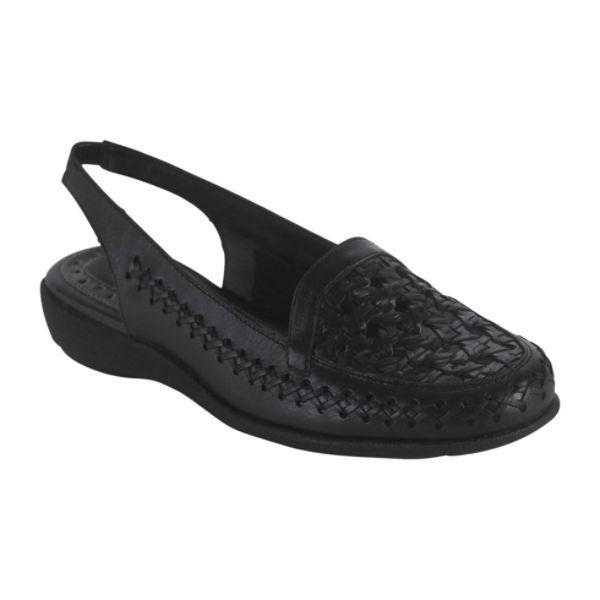 """""""Frances"""", Covington Women's  Black Leather Sandals, Sz.7 US .NIB"""
