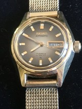 Vintage Seiko Lady JB Champion 1/40 10KT. Gold Overlay Made USA Watch Ba... - $222.75