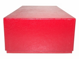 Guardhouse Double Row Slab - Red Coin Storage Box - 12 x 5.75 x 3 - $14.99