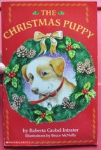 Christmas Puppy by Roberta Grobel Intrater - Children Chapter Book  - $5.00