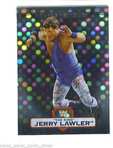 Jerry The King LAWLER 2010 Topps WWE Platinum X-FRACTOR PARALLEL Wrestli... - $1.79