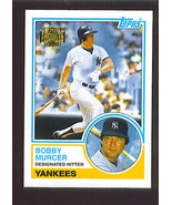 Bobby MURCER 2001 Topps Archives Card 160 New York YANKEES - $1.99