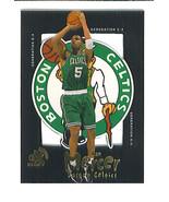 Ron MERCER 1998-99 E-X Century GENERATION E-X Insert Card Boston CELTICS - $2.99