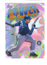 Alex Rodriguez 2000 Topps Power Players Insert Card Seattle Mariners - $1.49