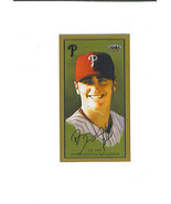 Brett MYERS 2003 Topps 205 BROOKLYN Mini Parallel Card Philadelphia PHIL... - $1.99