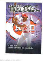 George Foster 2003 Topps Record Breakers Insert Card Cincinnati Reds - $1.39