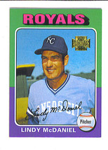Lindy McDANIEL 2001 Topps Archives  Kansas City ROYALS Card 363 - $1.29