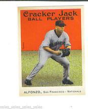 Edgardo ALFONSO 2004 Topps Cracker Jack MINI STICKER Parallel Card 156 G... - $1.29