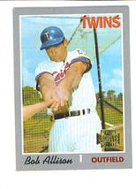Bob ALLISON 2001 Topps Archives Card 347 Minnesota TWINS - $1.29