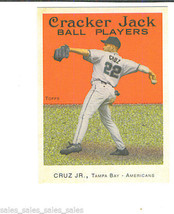 Jose CRUZ Jr 2004 Topps Cracker Jack MINI Parallel Card 157 Tampa Bay DE... - $1.29