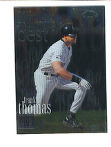 Frank THOMAS 2000 Topps Chrome  20th Century Best Card 470 Chicago WHITE SOX - $1.49