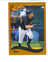 Marty CORDOVA 2002 Topps Traded SHORT PRINT Card T54 Baltimore ORIOLES - $2.99