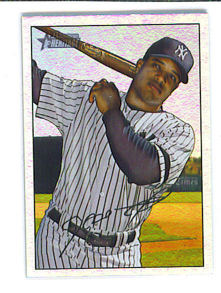 Robinson CANO 2007 Bowman Heritage RAINBOW FOIL Parallel Card New York YANKEES