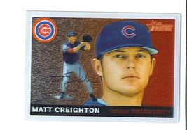 Matt Creighton 2004 Topps Heritage Chrome Parallel Card 1120/1955 Chicago Cubs - $3.49