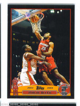 Malik ALLEN 2003-04 Topps BLACK Parallel 19/500 Card 124 Miami HEAT - $6.99