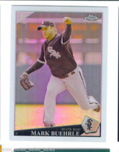 Mark Buehrle 2009 Topps Chrome Refractor Parallel Chicago White Sox Card 102 - $1.99
