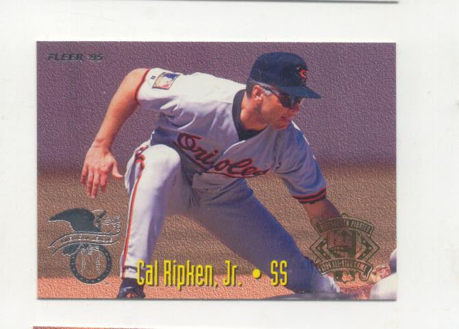 Cal Ripken Jr Ozzie Smith 1995 Fleer All And 50 Similar Items