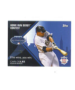 Carlos LEE 2008 Topps HOME RUN DERBY CONTEST Insert Card 432/999 Houston... - $1.99