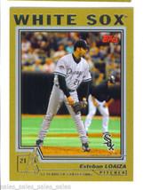 Esteban Loaiza 2004 Topps Gold Parallel Card 108 142/2004 Chicago White Sox - $1.99