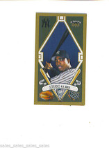 Alfonso Soriano 2003 Topps 205 Mini Parallel Polar Bear Back New York Yankees - $1.99