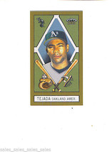 Miguel Tejeda 2003 Topps 205 Mini Parallel Drum Back Oakland A's As - $1.99