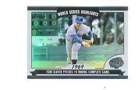 Tom Seaver 2004 Topps World Series Highlights Insert Card New York Mets - $2.99
